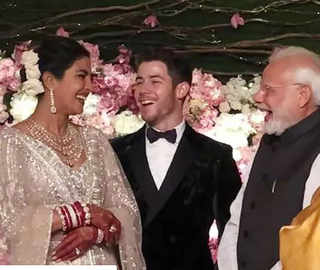 Modi posts picture from Priyanka-Nick's reception on Instagram; PeeCee thanks him for attending