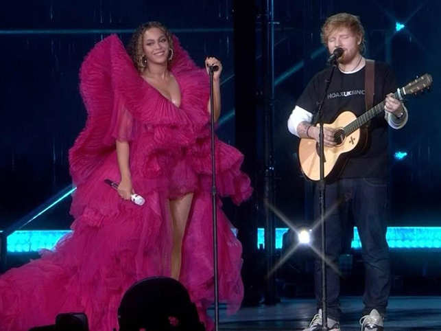 Beyonce, Ed Sheeran