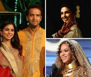 Bollywood, Beyoncé and bling: Theme of India's big, fat Isha-Anand wedding