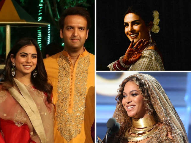 Bollywood, Beyoncé and bling: Theme of India's big, fat Isha-Anand wedding