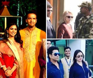 Isha-Anand's wedding: Hillary Clinton, Sachin Tendulkar in Udaipur