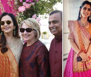 Isha-Anand Wedding: Ambanis, Piramals celebrate with 'Maha Aarti', sangeet ceremony