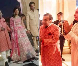 Isha-Anand sangeet: Bride-to-be stuns in pink; mum Nita dedicates dance