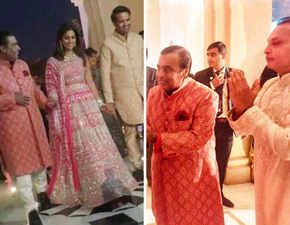 Isha-Anand sangeet: Bride-to-be stuns in pink; Nita Ambani dedicates dance; brothers Mukesh, Anil greet guests