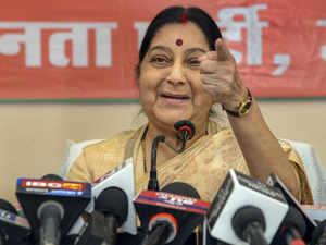 Sushma Swaraj PTI