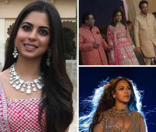 Beyonce meets Bollywood as Asia's Richest Man Mukesh Ambani's daughter weds