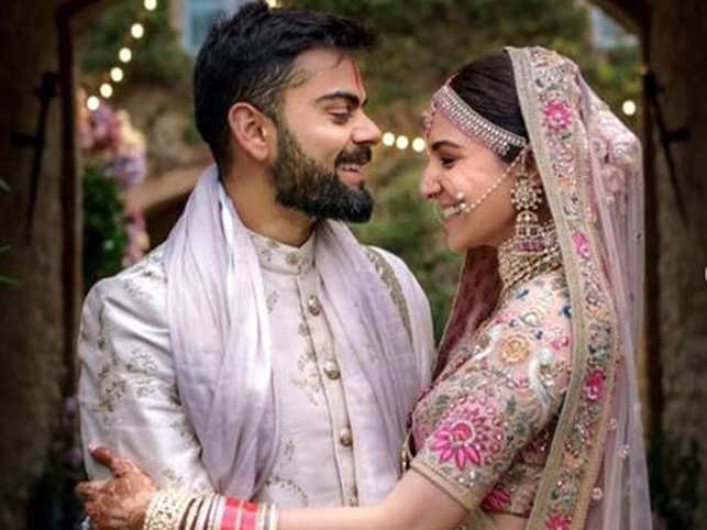 Virat Kohli Wedding.Virat Kohli Wishes Best Friend And Soulmate Anushka On First