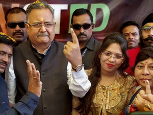 No 4th time for Raman Singh, Congress set to return in Chhattisgarh after 15 years