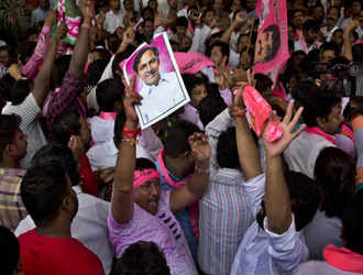 TRS set to form government in Telangana with huge majority