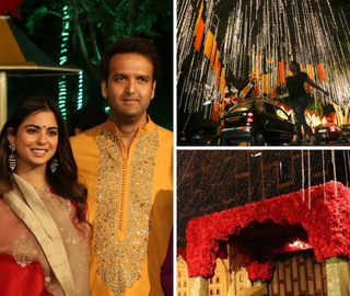 'Antilia' decked up with flowers & diyas for Isha Ambani & Anand Piramal's wedding: All the details