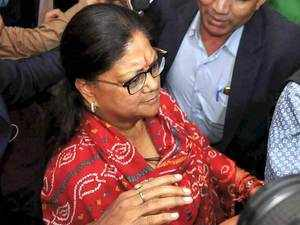 Accept mandate by the people, congratulate Cong on their success: Vasundhara Raje