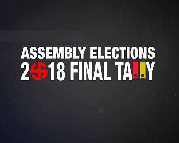 Assembly Elections Result 2018: Final Tally