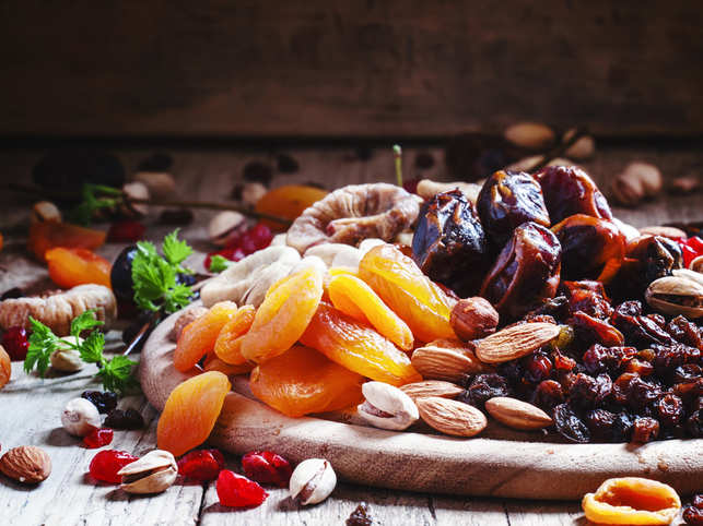 dates, apricots, raisins