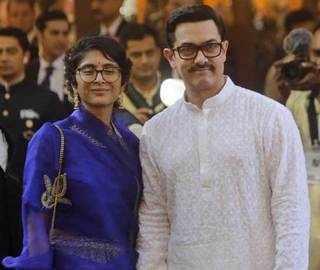 Aamir Khan, Wife Kiran Rao Among Guests At Isha Ambani's Wedding