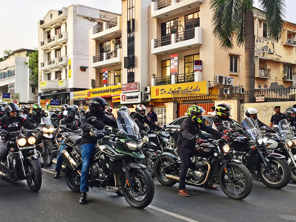 Triumph has quietly completed five years in India. It wants the next five to be a lot noisier.