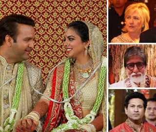 Isha, Anand Tie The Knot: Mukesh, Anil Keep It Traditional In Kurtas; A Glittering Guest-List At 'Antilia'
