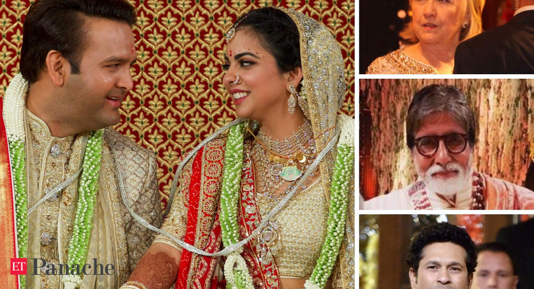 Love Is In The Air - Isha, Anand Tie The Knot: Mukesh, Anil