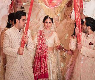 Inside Isha Ambani, Anand Piramal's gorgeous wedding