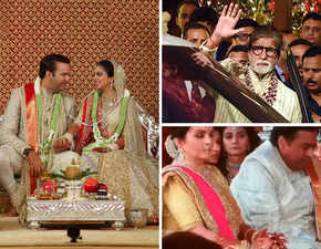 Mukesh Ambani gets emotional at daughter Isha's wedding after Big B's speech