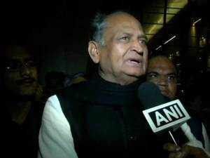 Ashok Gehlot appeals supporters to maintain peace, says decision on CM will be taken soon