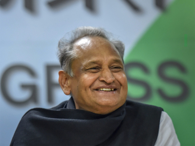 Twice before, Ashok Gehlot faced challenges in CM race
