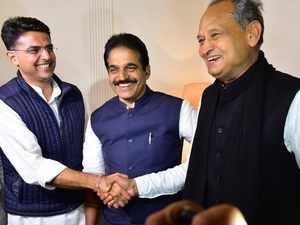 Ashok Gehlot named Rajasthan CM, Sachin Pilot as Deputy CM
