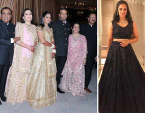 Isha-Anand reception: Nita Ambani, Swati Piramal twin in pink; newly-wed Saina Nehwal among guests