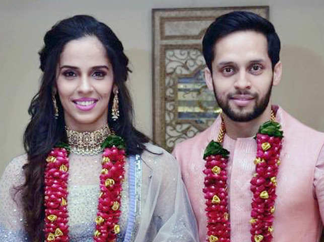 'Best match of my life': Saina Nehwal and Parupalli Kashyap tie the knot