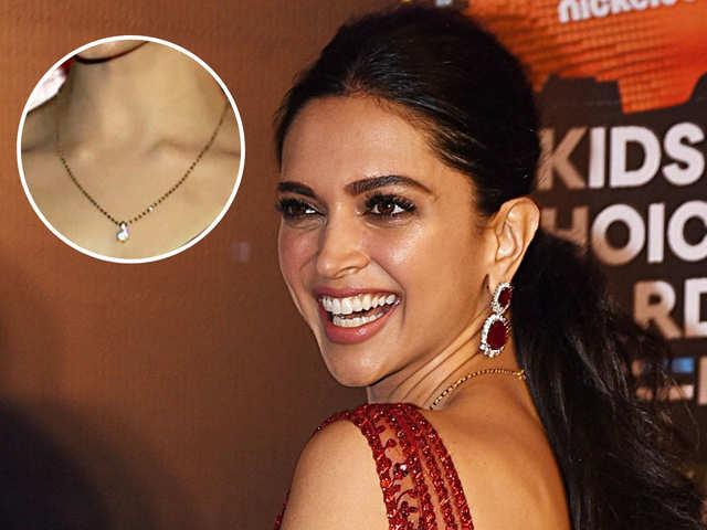 Loved Deepika Padukone's diamond mangalsutra? Light-weight jewellery is the new trend
