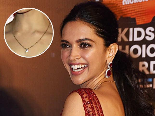 Loved Deepika Padukone's diamond mangalsutra? Light-weight jewellery is the new trend amongst women