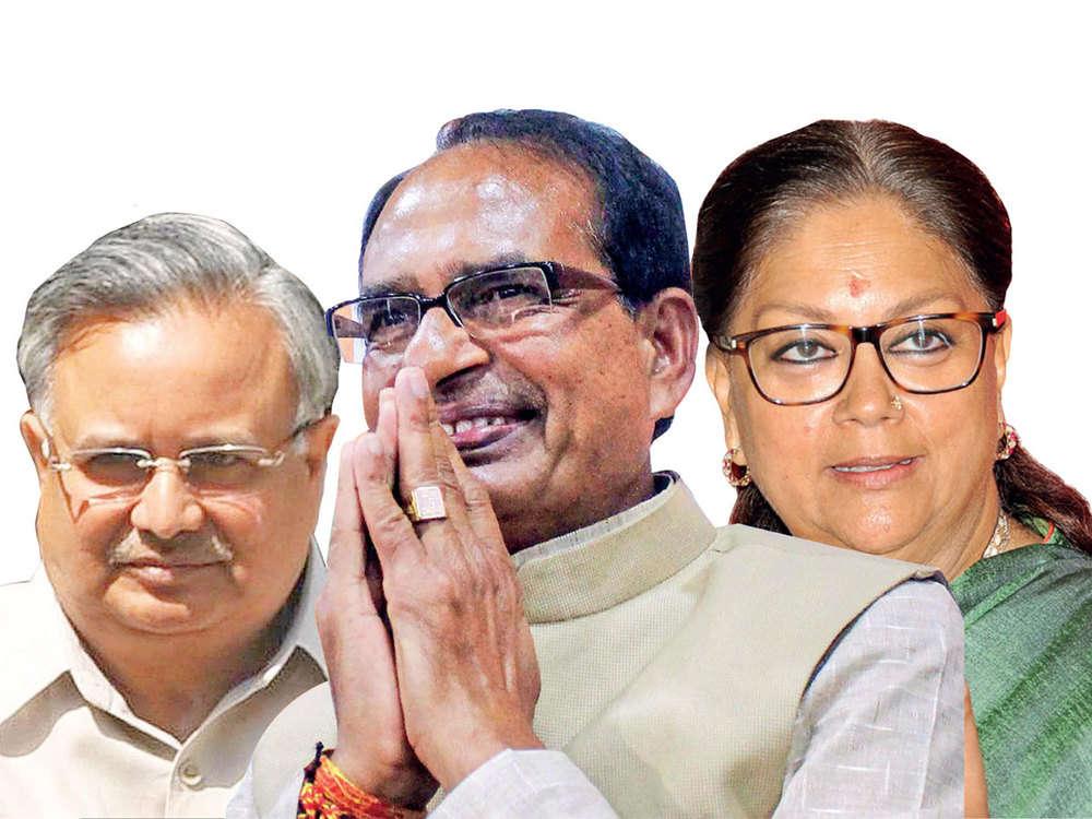 Vasundhara Raje, Raman Singh & Shivraj Singh Chouhan may stay in states
