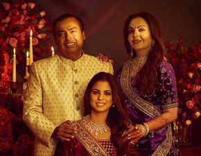 Another reception for Isha-Anand: Ambanis host party for Reliance family, mum Nita dazzles in Sabyasachi