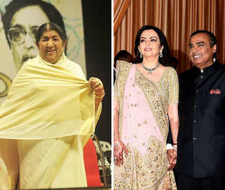 Lata Mangeshkar regrets missing Isha-Anand's wedding due to health reasons; calls Ambanis family