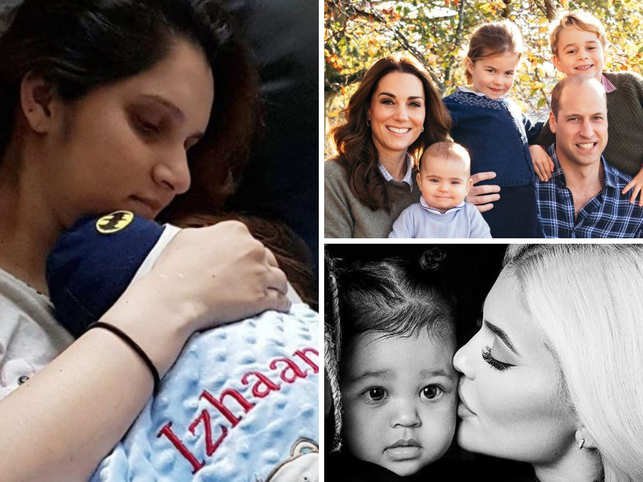 This year has been all about famous parents introducing their babies to the world, via social media. From baby showers to showing off their little ones' cribs, celebrities went out of their way to announce the arrival of their little ones.  From royal baby to the heir of Snapchat, this year didn't disappoint us.  Here's a list of all the celebrities who turned parents - some for the first time, and some again, - in 2018: