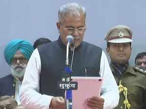 Watch: Bhupesh Baghel takes oath as CM of Chhattisgarh