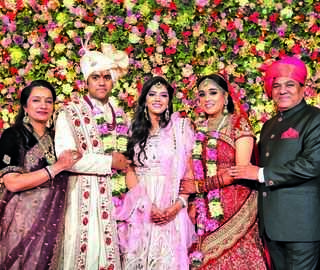 Wedding diaries: Sadhna TV Network chairman's son ties the knot in Delhi