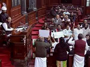 Winter Session: Parliament disrupted for 5th day over Rafale, Cauvery