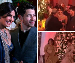 Priyanka-Nick Host An Intimate Mumbai Reception, Mum Madhu Shakes A Leg