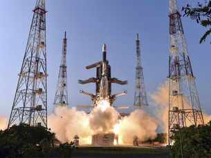 """With GSAT-7A, ISRO launches """"Angry Bird"""" for IAF"""