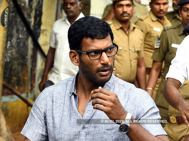 Police Detain Tamil Actor Vishal Krishna For Attempting To Forcibly