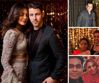 Priyanka-Nick host glittering reception: Salman, Kajol, Rahman among guests