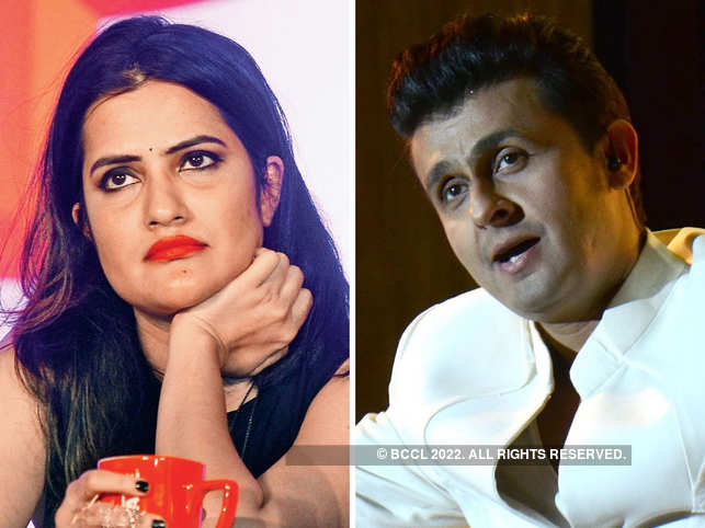 Sona Mohapatra and Sonu Nigam