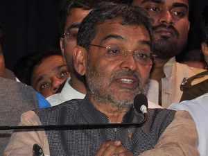 Upendra Kushwaha, who quit NDA, joins UPA in Bihar