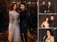 Priyanka-Nick's Bollywood Reception: DeepVeer Win Hearts In Black, Katrina Shines In Gold