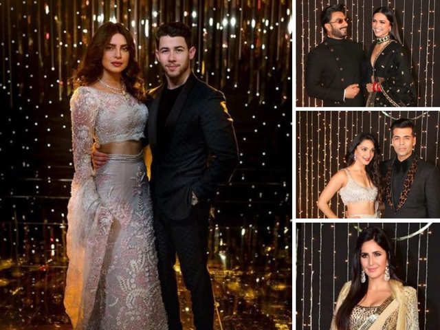 313eddddba33e On A High Note - Priyanka-Nick's Bollywood Reception: DeepVeer Win ...