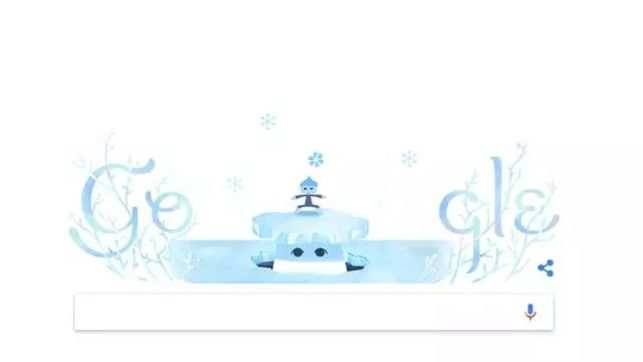 Winter solstice: Google Doodle celebrates the shortest day of the year