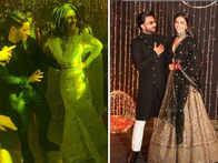 Priyanka shakes a leg with 'Bajirao' co-stars DeepVeer; grooves to 'Desi Girl' with hubby Jonas