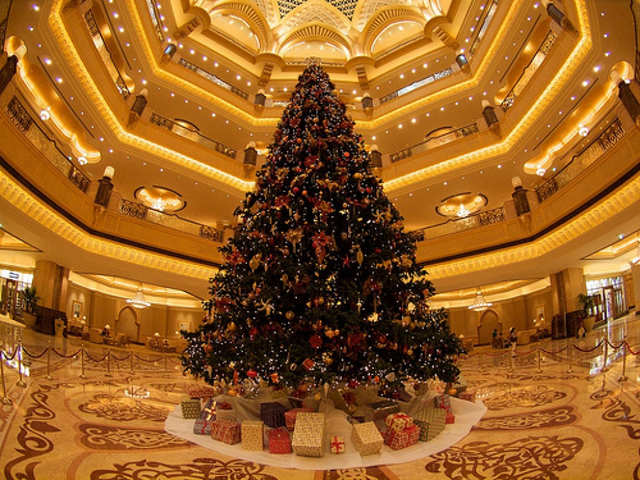Trees On Which Money Glows - Swarovski, Gold: Here's A Look At The Most Expensive Christmas ...