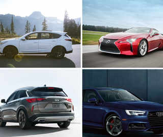 Acura, Infiniti, Lexus: The worst luxury cars of 2018