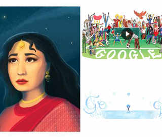 Meena Kumari, FIFA WC, Winter Solstice: A throwback to the best Google doodles of 2018